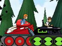 Jeu Ben 10 Combat de Tanks