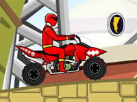 Jeu Power Rangers Jayden ATV