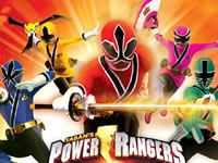 Jeu Power Rangers Samouraï Archer