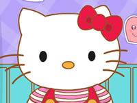 Jeu Hello Kitty va à l'école