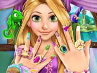 Jouer à Manucure avec Princesse Raiponce