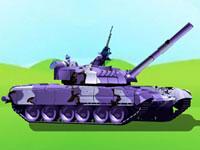 Jouer à La guerre avec un tank