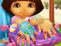 Jeu Manucure de Dora l'Exploratrice