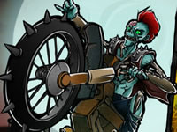 Jeu Atomic Zombie Motocross