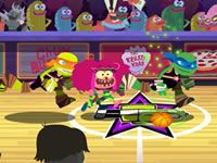 Jeu Nick Basketball Stars