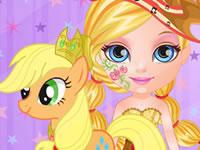 Jeu Bébé Barbie et Mon Petit Poney 2