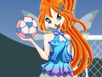 Jeu Bloom fait du football
