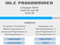 Jeu Idle Programmer