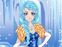 Jeu Robe pour la princesse des glaces
