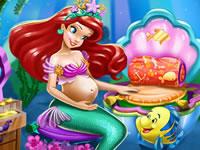 Jeu Ariel est enceinte - Décoration de chambre