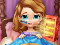 Jeu Princesse Sofia est malade