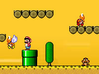 Jeu gratuit Super Mario World Flash 2