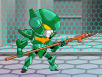 Jeu Combat de robots en duel