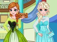 Jeu Anna et Elsa - Remise de diplôme