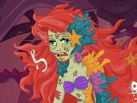 Jeu Ariel est un zombie