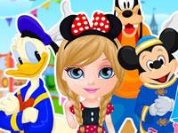 Jeu Baby Barbie va à Disneyland