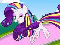 Jouer à Rarity Rainbow Mon Petit Poney