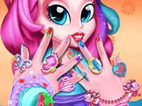 Jeu La Manucure Pinkie Pie