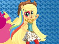 Jouer à Applejack Equestria Girls