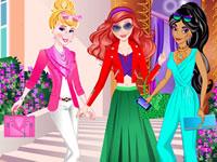 Jeu Princesses Disney au lycée