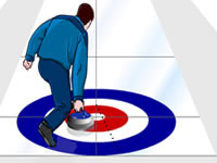 Jeu Virtual Curling