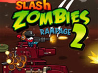 Jeu Slash Zombies Rampage 2