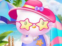 Jeu Hello Kitty Vacances d'été