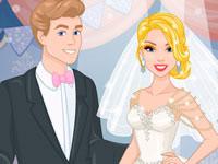 Jeu Barbie Nouvelle Robe de Mariée