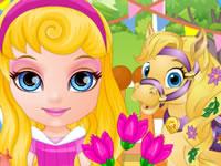 Jeu Bébé Barbie invite les Palace Pets