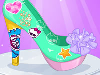 Jeu Monster High - Design de chaussures