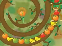 Jeu gratuit Fruit Twirls