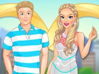 Jeu Barbie voyage en amoureux