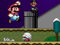 Jeu Super Mario Flash - Halloween Version