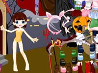 Jeu Halloween Dress Up