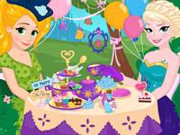 Jeu Goûter avec les princesses Disney