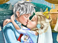 Jeu Mariage d'Elsa et Jack Frost