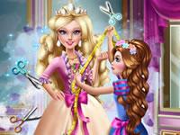 Jouer à Barbie Princesse et sa cousine