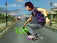 Jeu Stunt Skateboard 3D