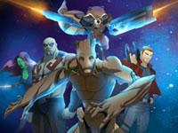 Jeu gratuit Les Gardiens de la Galaxie - Course intergalactique