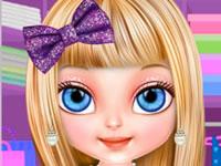 Jeu Bébé Barbie Paillettes