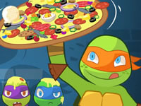 Jeu Pizza Like a Turtle Do