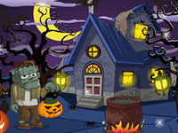 Jeu Déco de maison d'Halloween