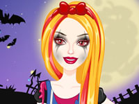 Jeu Barbie Zombie d'Halloween