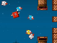 Jeu gratuit Flapping Crush - Halloween Bird
