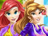 Jeu Belle et Ariel Car Wash