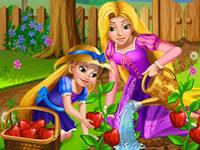 Jeu Raiponce et sa fille - Jardinage