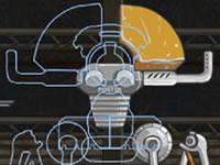 Jeu Assembler des robots