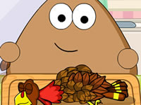 Jeu gratuit Pou Thanksgiving Day Slacking