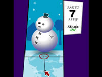 Jeu Dress the snowman