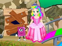 Jeu Princesse Juliette aide les elfes